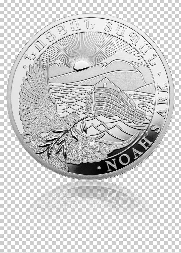 Armenia Mount Ararat Noah's Ark Silver Coins Bullion Coin PNG, Clipart, Ark, Armenia, Armenian Dram, Bullion, Bullion Coin Free PNG Download