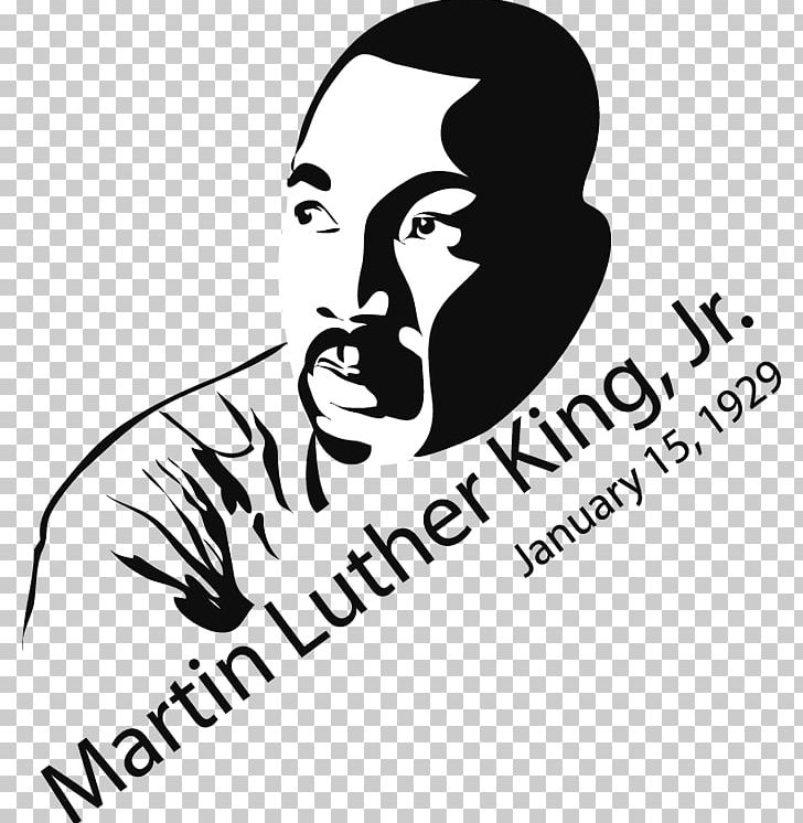 Martin Luther King Jr Day Black History Month Drawing Illustration Png Clipart Area Art Artwork Black