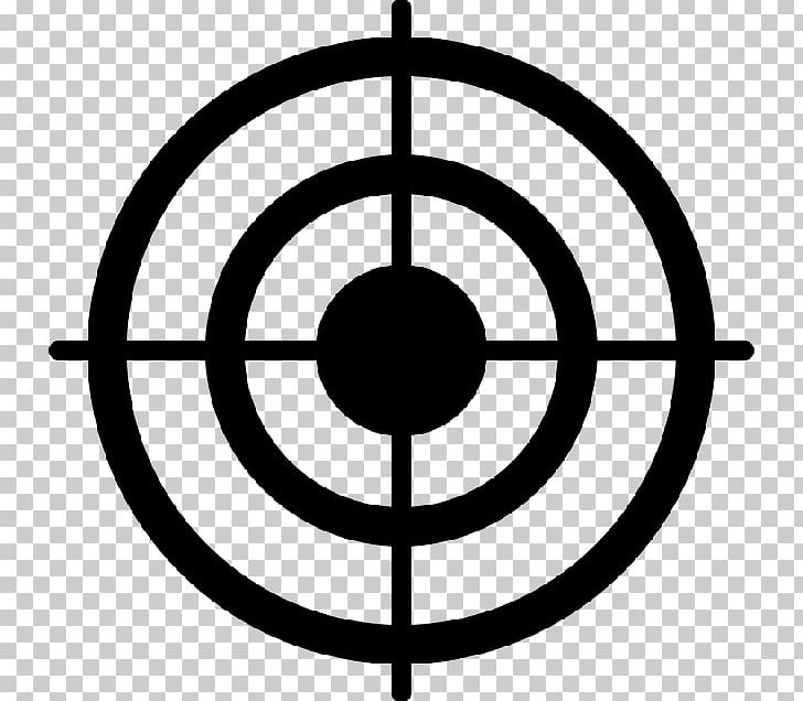 Bullseye Shooting Target Computer Icons PNG, Clipart, Area, Black And White, Bullseye, Circle, Computer Icons Free PNG Download