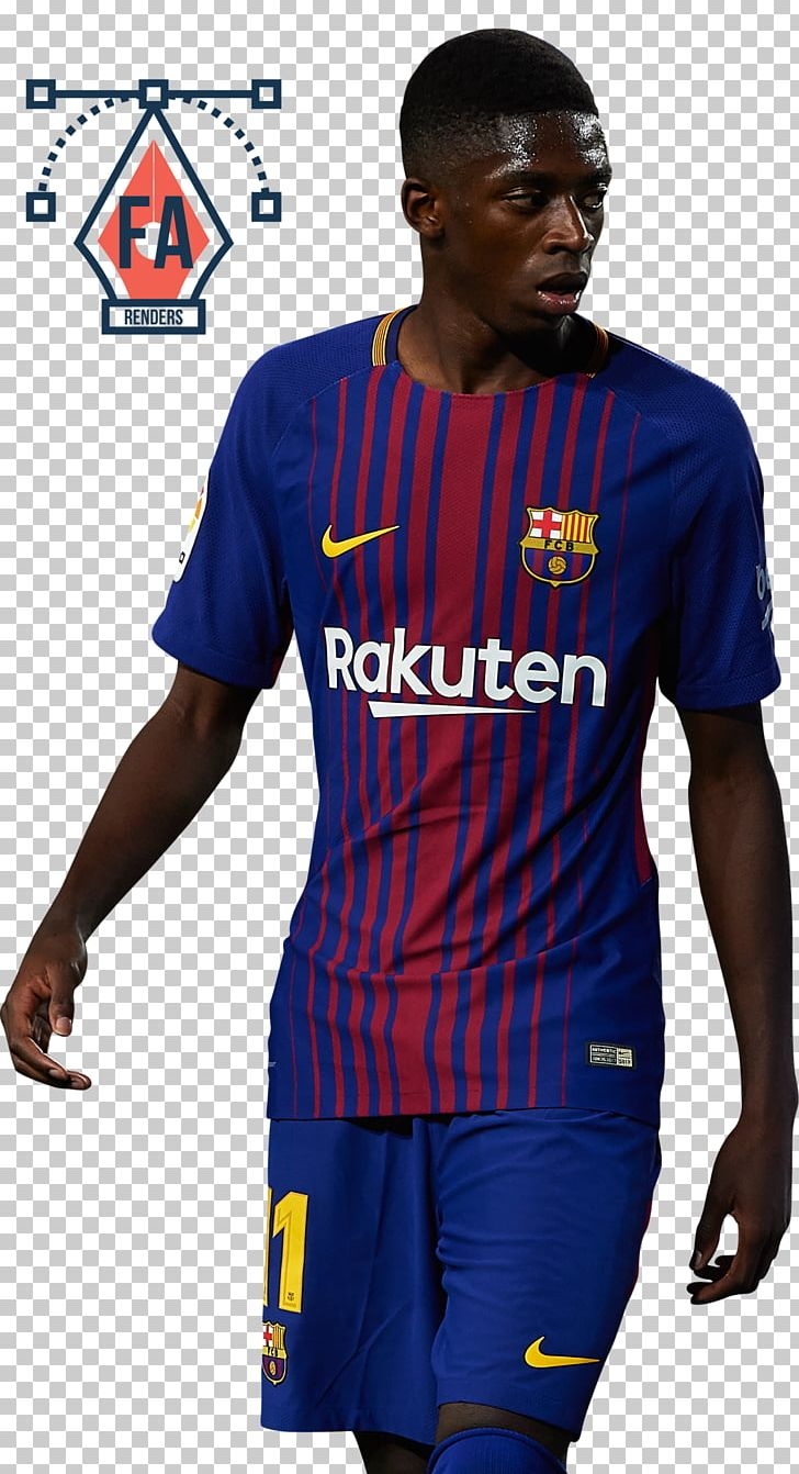 5ed49d79ddc Ousmane Dembélé FC Barcelona Jersey Borussia Dortmund La Liga PNG, Clipart,  Blue, Borussia Dortmund, Clothing, ...