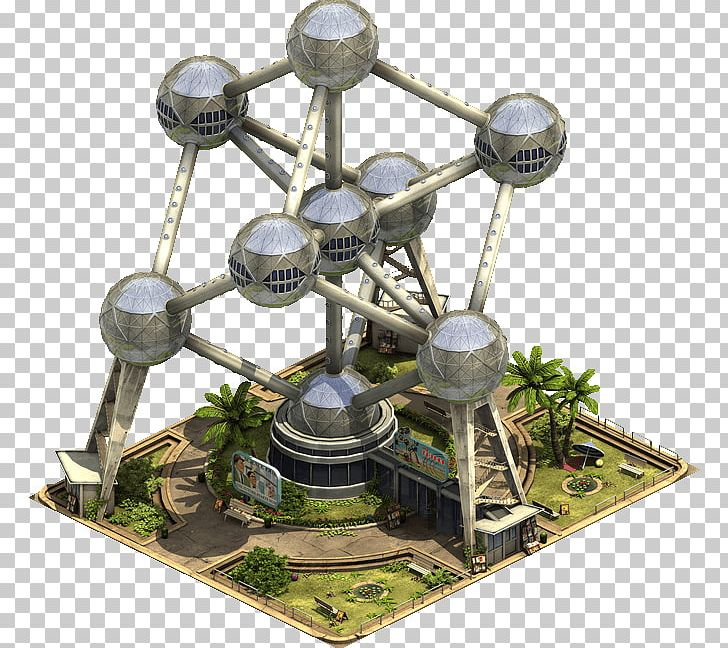Atomium Forge Of Empires Expo 58 Building World's Fair PNG