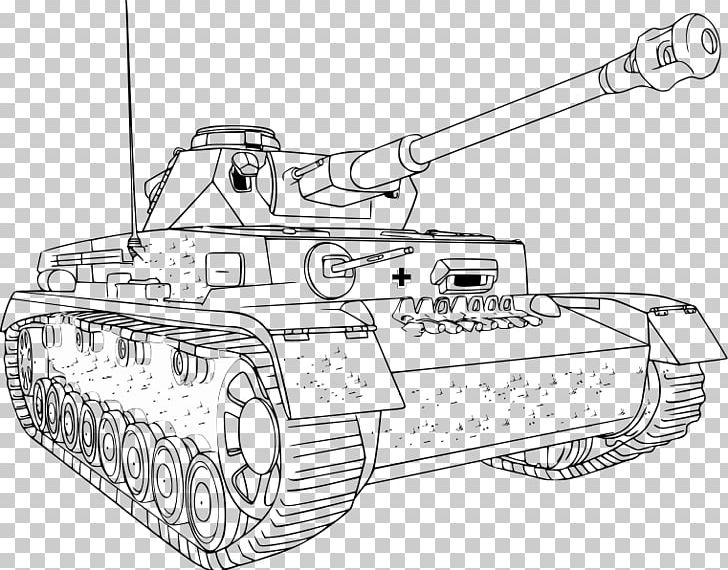 World War Ii World Of Tanks Coloring Book Colouring Pages Png Clipart Angle Artwork Ausmalbild Automotive