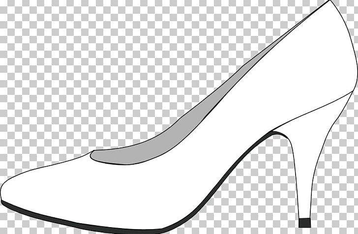 Black And White Coloring Book Line Art Shoe PNG, Clipart, Art, Basic Pump, Black, Black And White, Book Free PNG Download