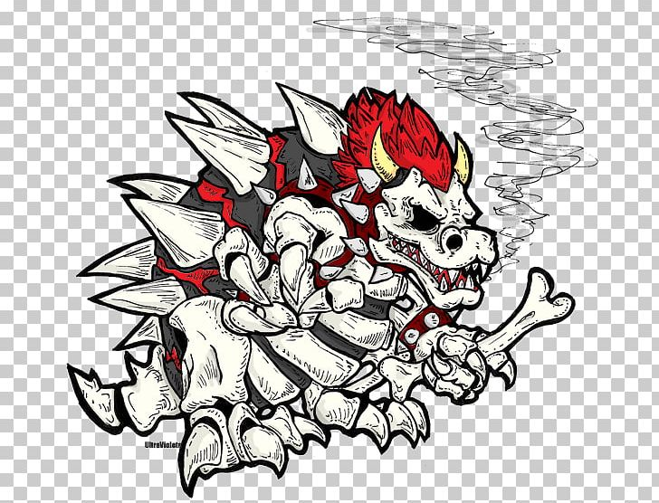 Bowser Jr Mario Drawing Video Game Png Clipart Art Artwork Baby Bowser Black And White Boss