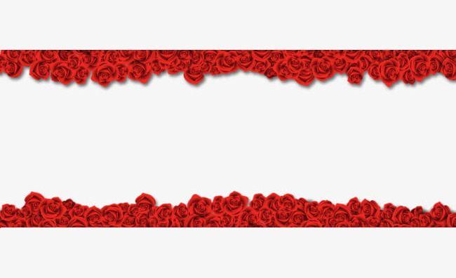 Rose Border Material PNG, Clipart, Border, Border Clipart, Flower, Flower Border, Flowers Free PNG Download