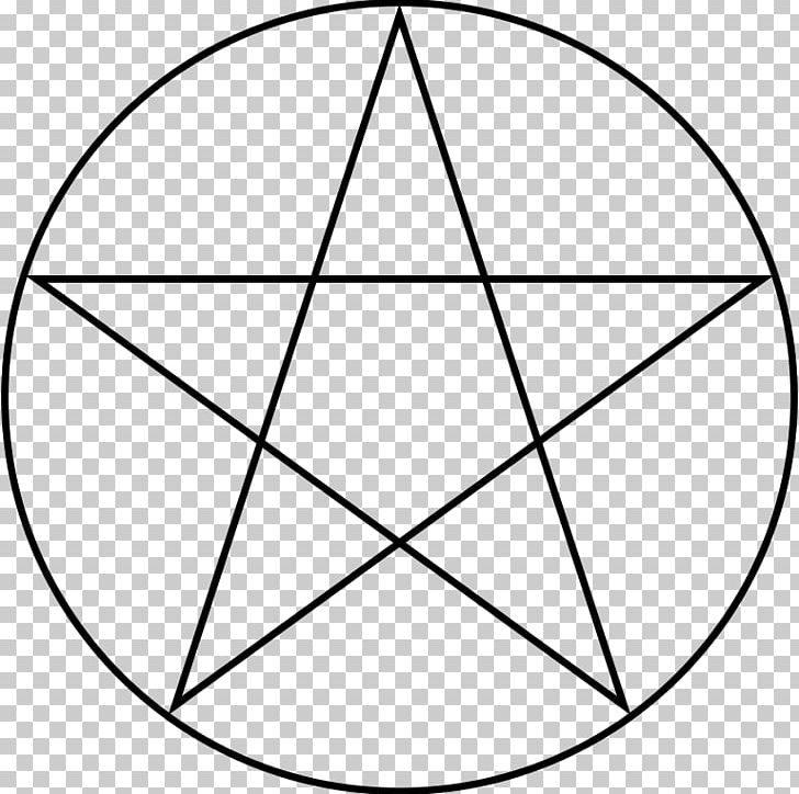 Witchcraft Symbol Wicca Pentacle Pentagram PNG, Clipart, Angle, Area, Black And White, Circle, Drawing Free PNG Download