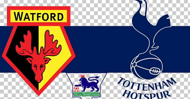 Tottenham Hotspur F C Watford F C Premier League Fa Cup Vicarage Road Png Clipart Advertising Area Banner