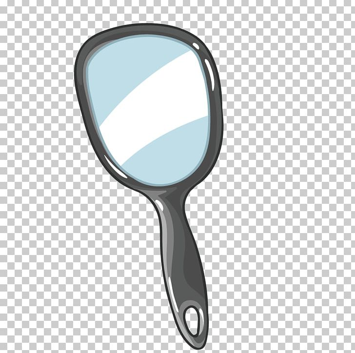 Mirror Magnifying Glass PNG, Clipart, Adobe Illustrator, Black