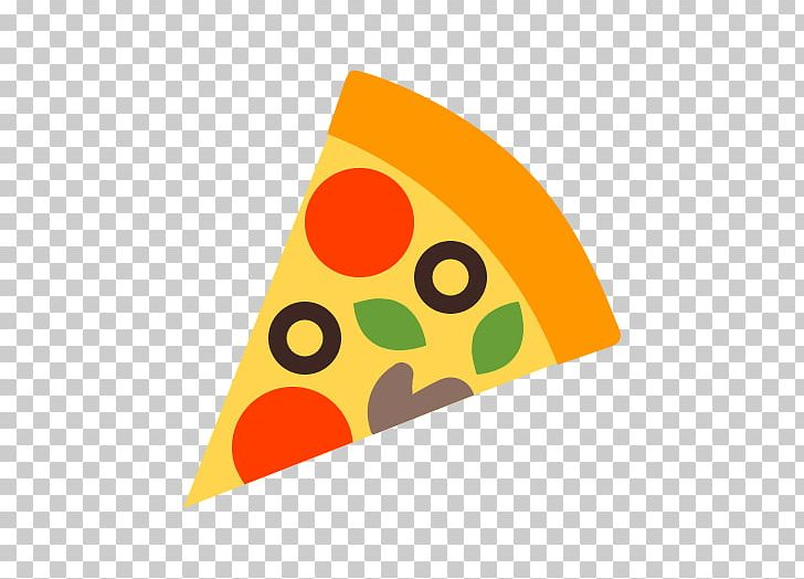 Pizza icon. Vegetarian cuisine food png