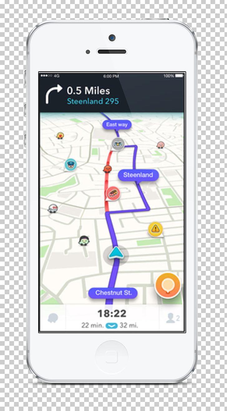 Waze GPS Navigation Software GPS Navigation Systems Traffic PNG