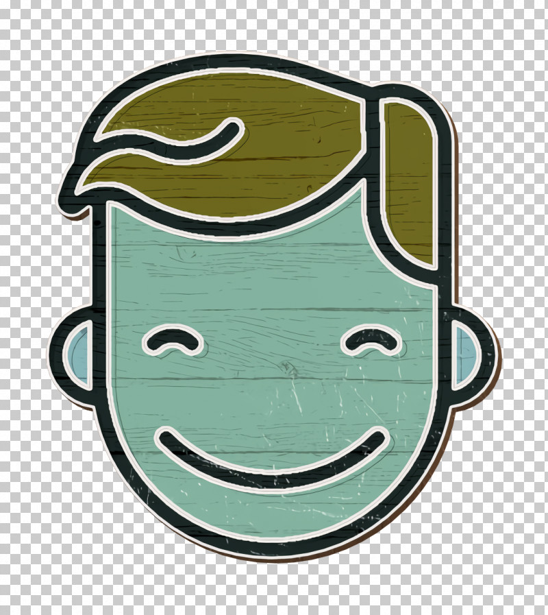 Smile Icon Linear Color Emoticons Icon People Icon PNG, Clipart, Biology, Green, Linear Color Emoticons Icon, M, Meter Free PNG Download