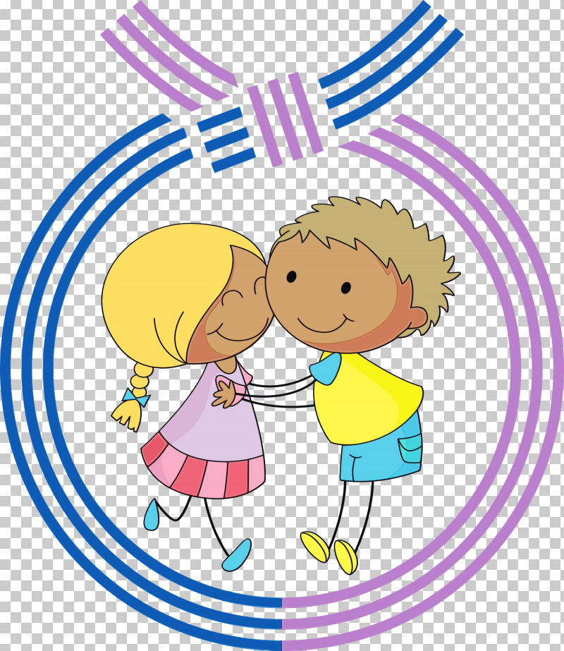 Cartoon Cheek Sharing Child Playing With Kids PNG, Clipart, Cartoon, Cheek, Child, Circle, Gesture Free PNG Download
