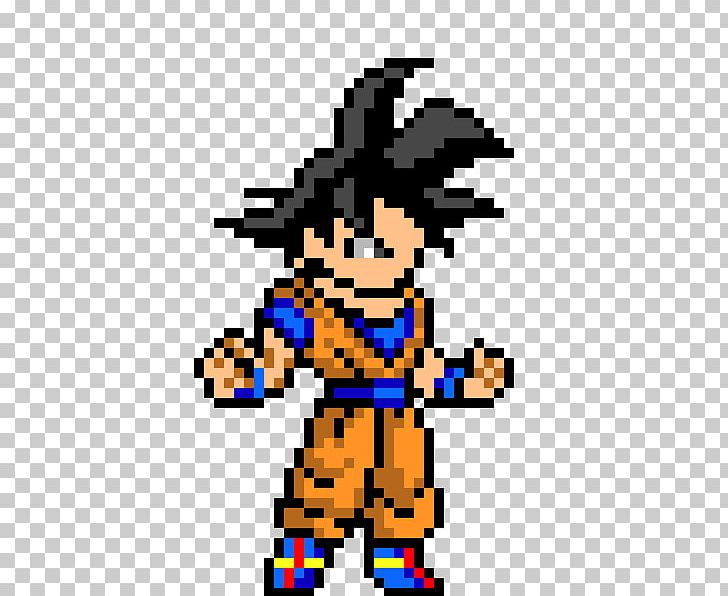Goku Pixel Art Dragon Ball Png Clipart Animated Film Art Arts Deviantart Dragon Ball Free Png