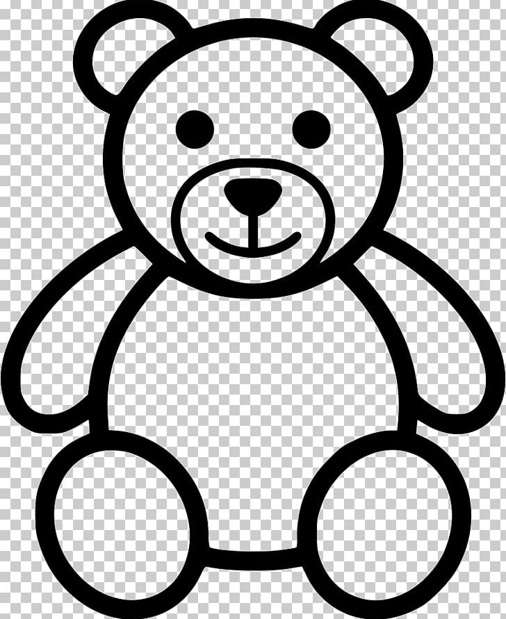 Teddy Bear Drawing Png Clipart Animals Bear Black Black And White Carnivoran Free Png Download