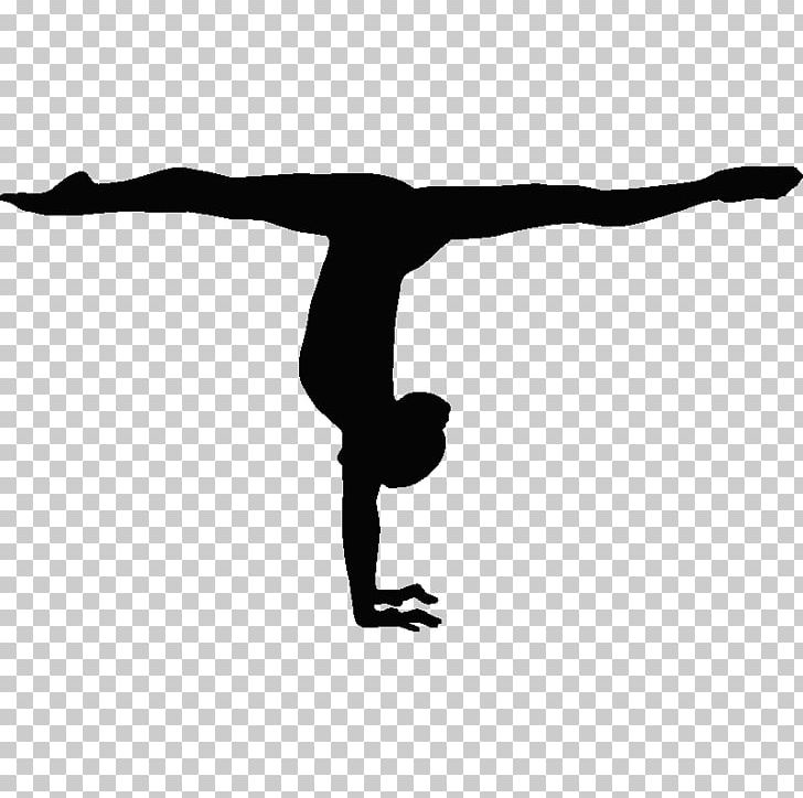 Gymnastics Handstand Balance Beam Split Sport PNG, Clipart, Arm, Artistic Gymnastics, Balance, Black And White, Child Free PNG Download