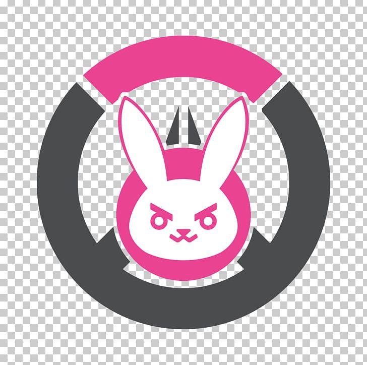 Overwatch D Va Logo Decal Sticker Png Clipart Art Circle Custom Logo D Va Decal Free