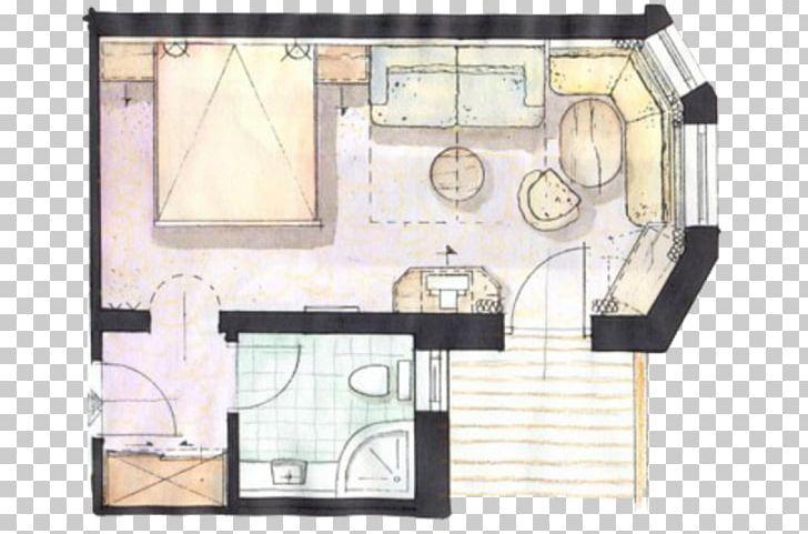 Ü 14 Hotel Unterlechner Room Floor Plan