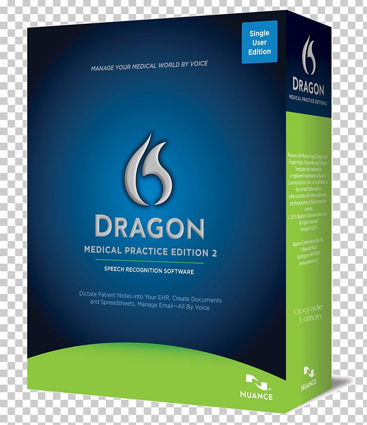 Dragon NaturallySpeaking Nuance Communications Medicine Speech