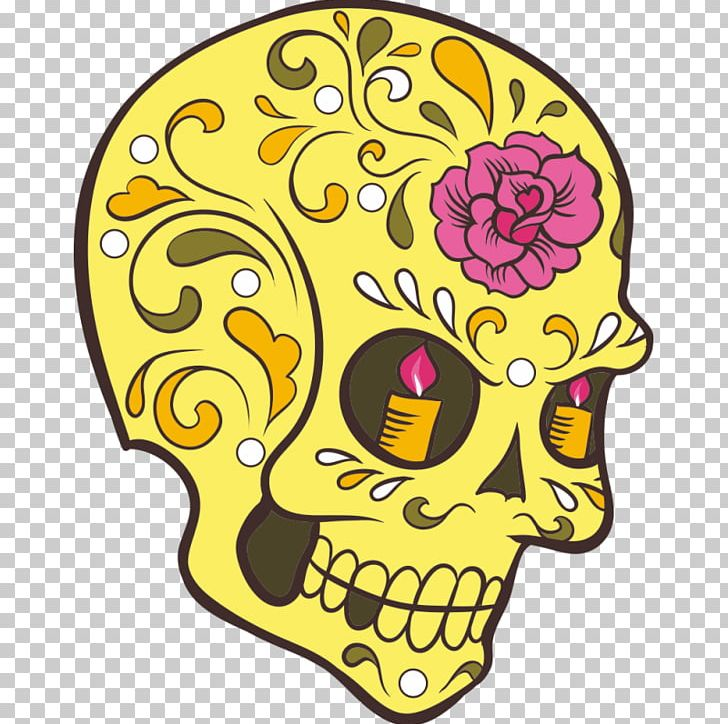 Calavera Dia De Los Muertos: Sugar Skull Coloring Book At Midnight Version  ( Skull Coloring Book For