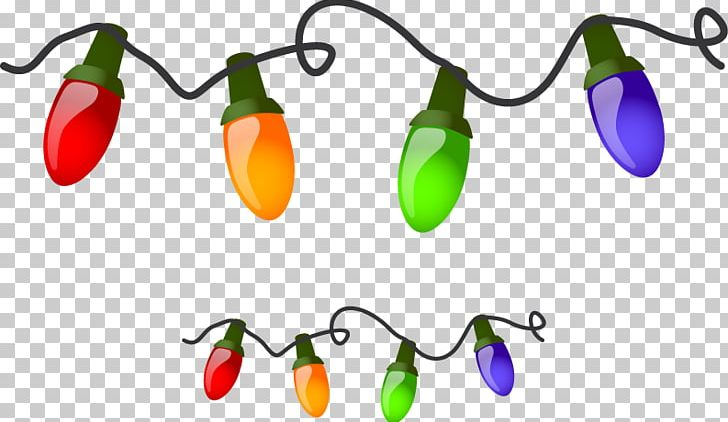 Christmas Lights Cartoon.Christmas Lights Png Clipart Bell Peppers And Chili