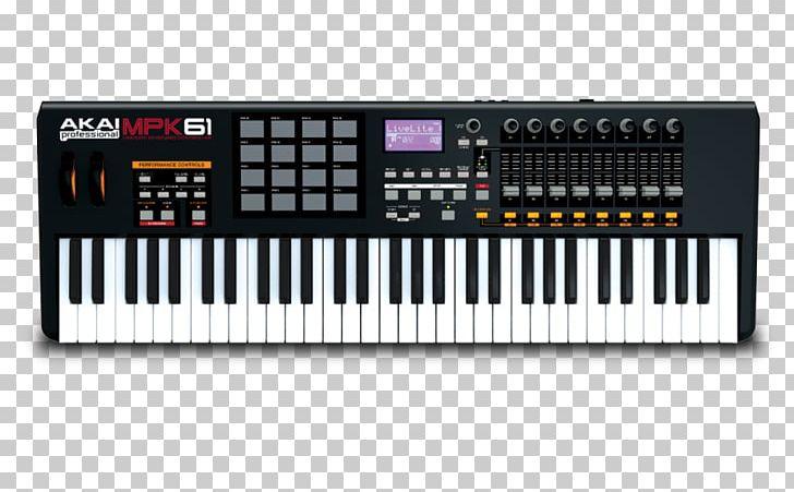 Akai Professional MPK Mini MKII MIDI Keyboard MIDI Controllers Akai