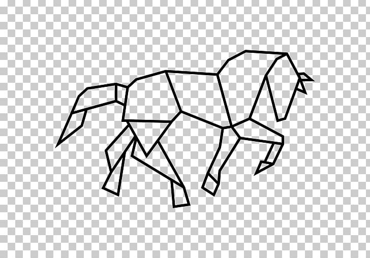 Horse Geometric Shape Polygon Geometry