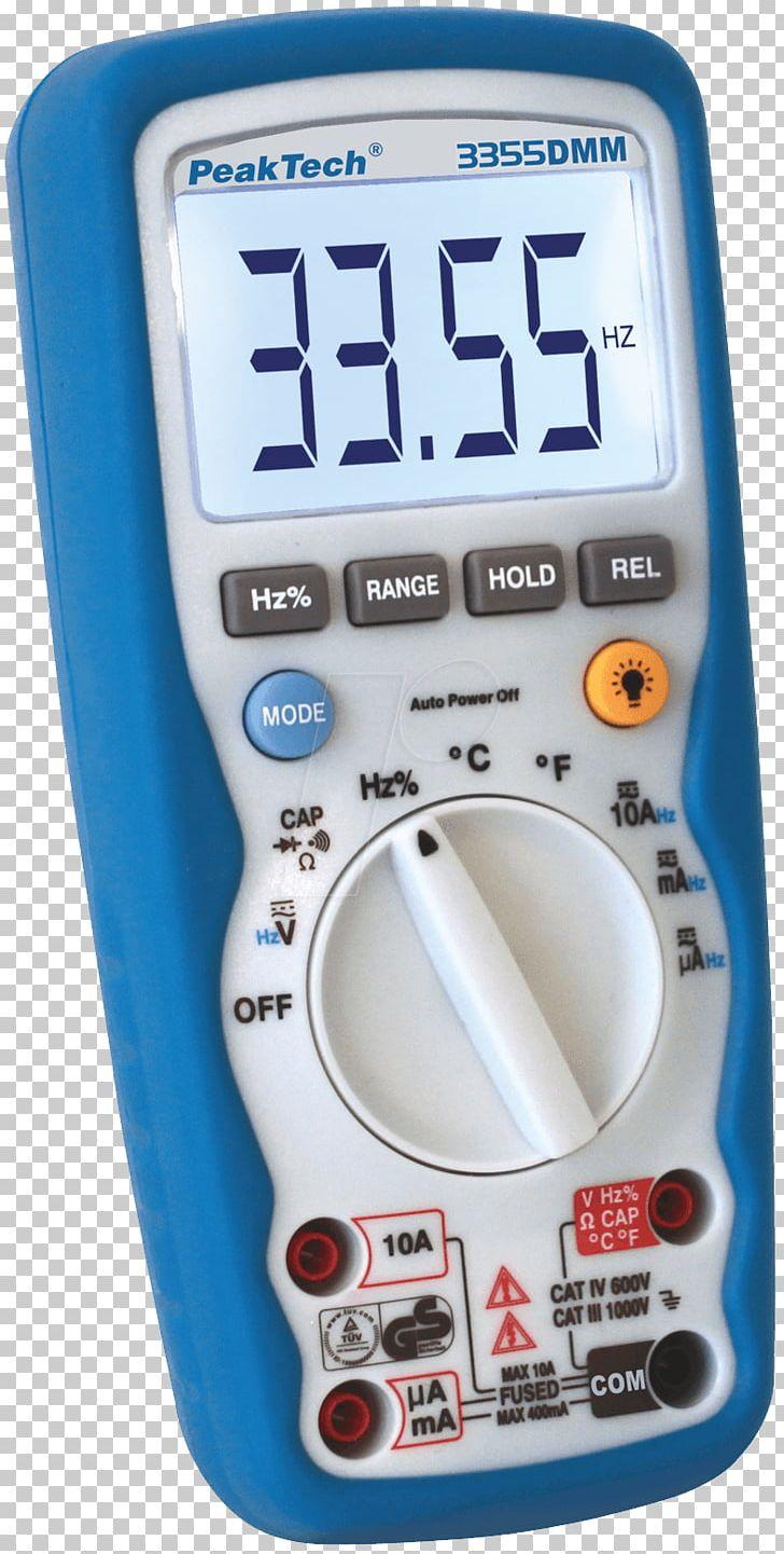 Digital Multimeter Gauge Electrical Engineering Thermocouple PNG