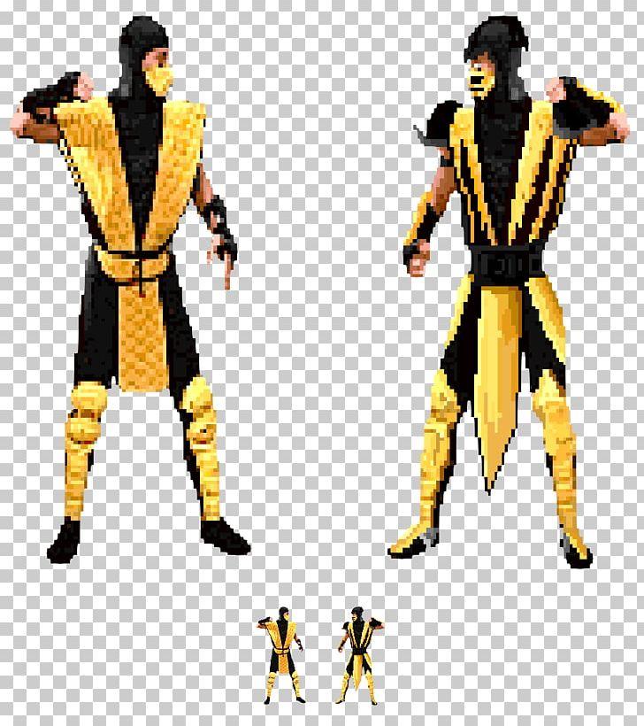 Mortal Kombat Ii Scorpion Liu Kang Kitana Mortal Kombat