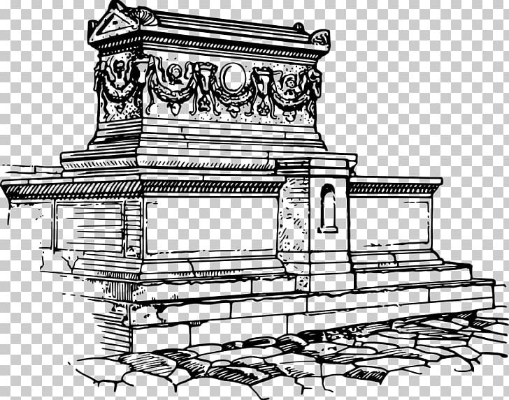 Sarcophagus Drawing Line Art Sketch Png Clipart Angle
