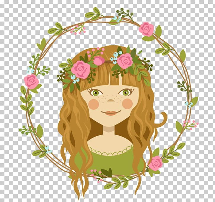 Wreath Flower Crown PNG, Clipart, Art, Baby Girl, Cartoon, Cartoon Girl, Fashion Girl Free PNG Download