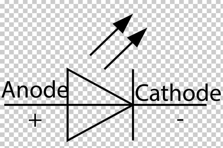 electronic symbol wiring diagram circuit diagram light-emitting diode  electronic circuit png, clipart, angle, area, black,