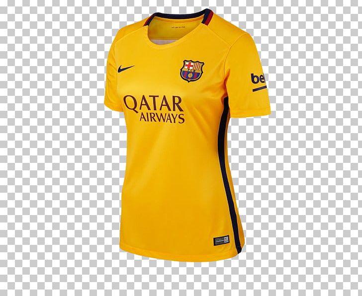 newest d718c cf817 2015–16 FC Barcelona Season T-shirt La Liga Spain National ...