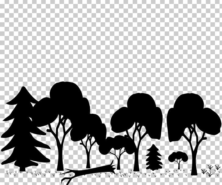 Woodland Temperate Broadleaf And Mixed Forest Tree PNG, Clipart, Art Clipart, Black, Branch, Computer Wallpaper, Flower Free PNG Download