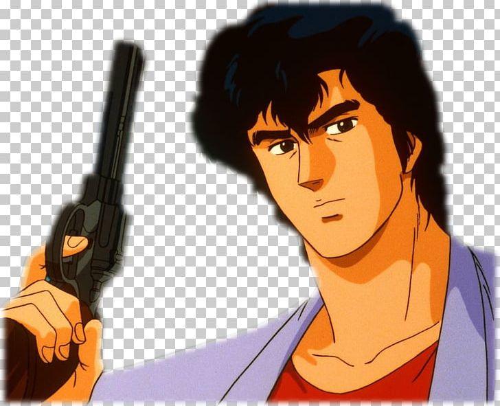 Ryo Saeba City Hunter Kaori Makimura Akira Kamiya Anime Png Clipart