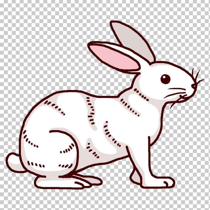 Rabbit Cartoon Roger Rabbit Whiskers Line Art PNG, Clipart, Cartoon, Dog, Drawing, Hare, Leporids Free PNG Download