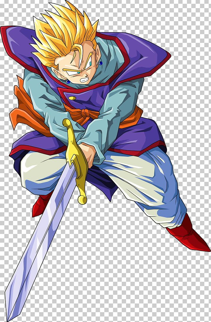 Gohan Goku Trunks Vegeta Dragon Ball Z Dokkan Battle Png