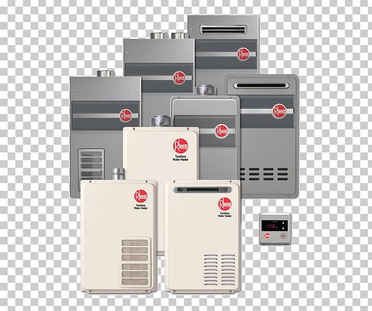 Tankless Water Heating Rheem Electric Heating Heat Pump PNG, Clipart