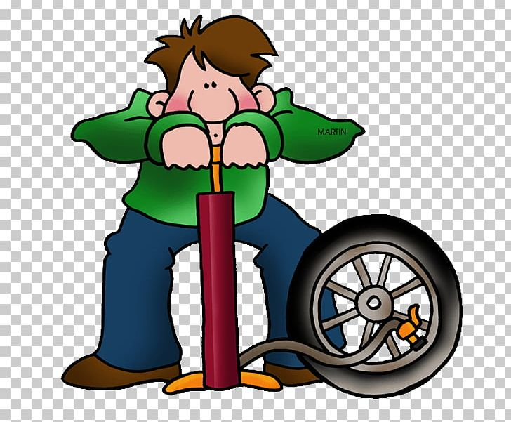 Car Bicycle Mechanic Bicycle Pumps Flat Tire Png Clipart Artwork
