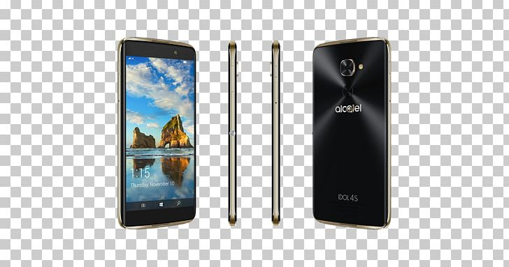 Smartphone Feature Phone Alcatel Idol 4S PNG, Clipart, Alcatel Idol, And, Cellular Network, Communication Device, Electronic Device Free PNG Download