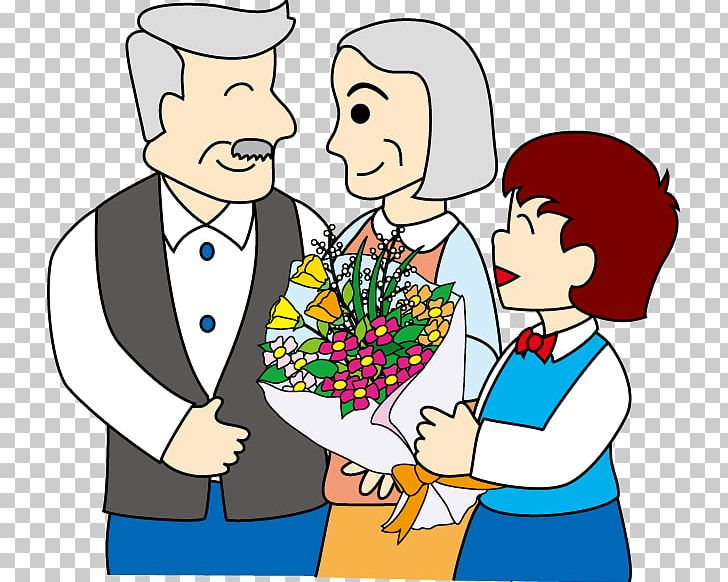 Respect For The Aged Day Family Grandparent PNG, Clipart, Artwork, Boy, Child, Concept, Conversation Free PNG Download