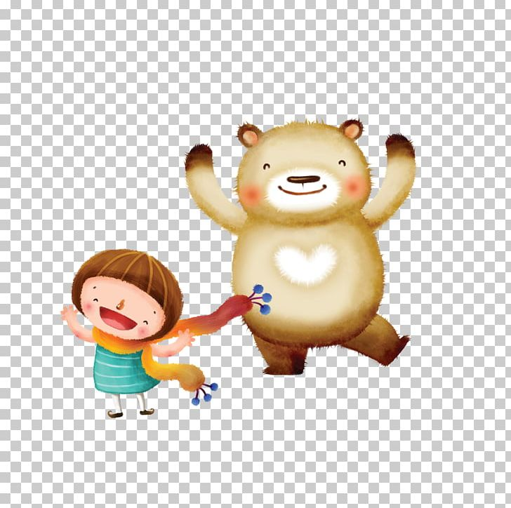Bear Cartoon Drawing Png Clipart Animals Animation Baby