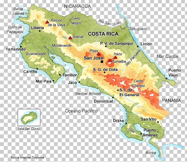 Liberia San José Stone Spheres Of Costa Rica Location Map PNG ...
