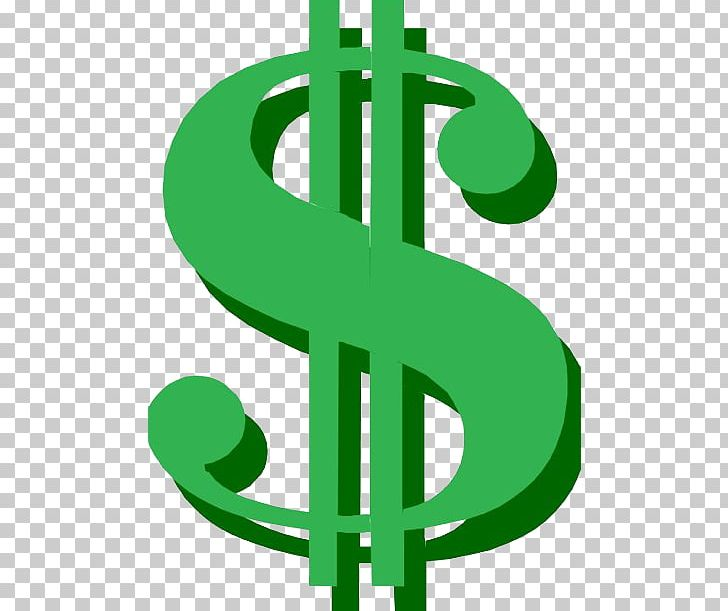 Dollar sign cartoon. United states png clipart