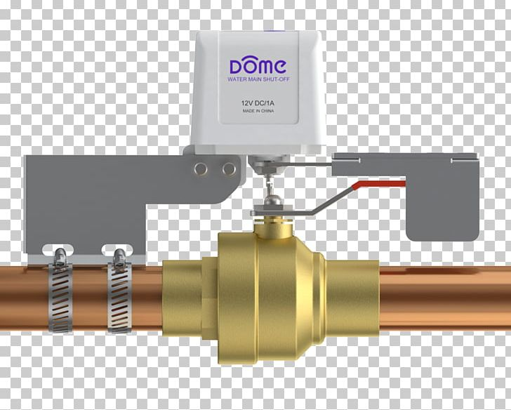 Safety Shutoff Valve Z-Wave Home Automation Kits Dome Zwave Plus Water Main Shutoff Diy Installation Over Existing 14 PNG, Clipart, Automation, Ball Valve, Control Valves, Cylinder, Hardware Free PNG Download