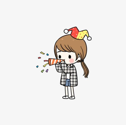 Cute Cartoon Little Girl Png Clipart Cartoon Cartoon Characters