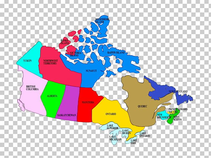 Map Of Canada With Territories.Provinces And Territories Of Canada Map Geography Cartography Png