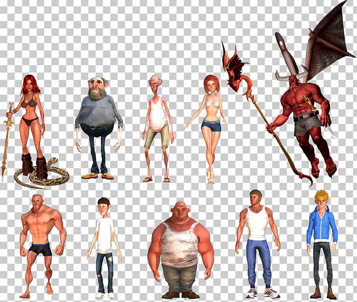 Cartoon Animation Character IClone Model Sheet PNG, Clipart