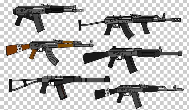 Assault Rifle Izhmash Firearm AK-47 AMD-65 PNG, Clipart, Air Gun