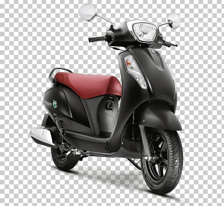Suzuki Access 125 Scooter Car Motorcycle PNG, Clipart, Activa Hd, Automotive Design, Automotive Industry, Black, Brake Free PNG Download
