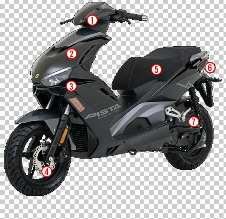 Scooter Car Motorcycle Wheel Two-stroke Engine PNG, Clipart